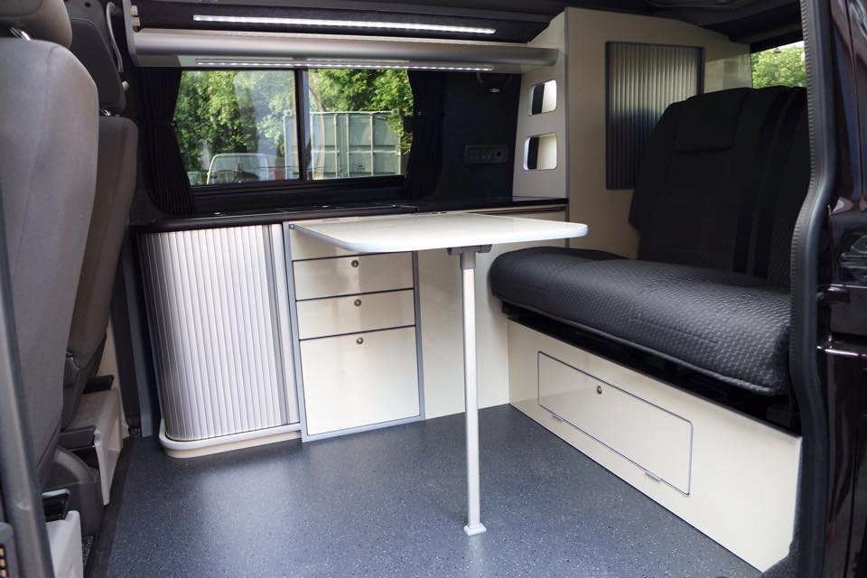 Moores Campers Campervan Conversion Swb Vw T5 Blackberry And