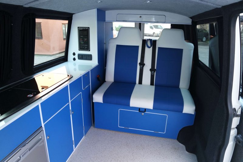 Moore's Custom Campers Full Campervan Conversion VW T5 LWB For Sale