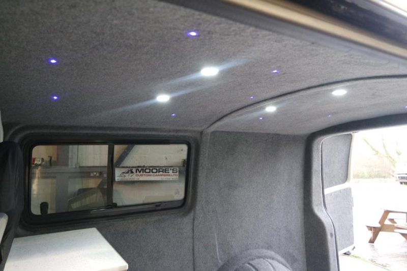Campervan Carpeting for a range of vehicles including VW T4 T5 T6, Ford and Vauxhall