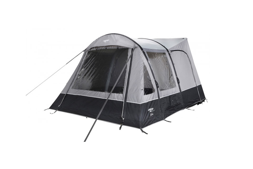 Vango Kela III Low Driveaway Awning for VW T4 T5 T6 Inflatable Airbeam