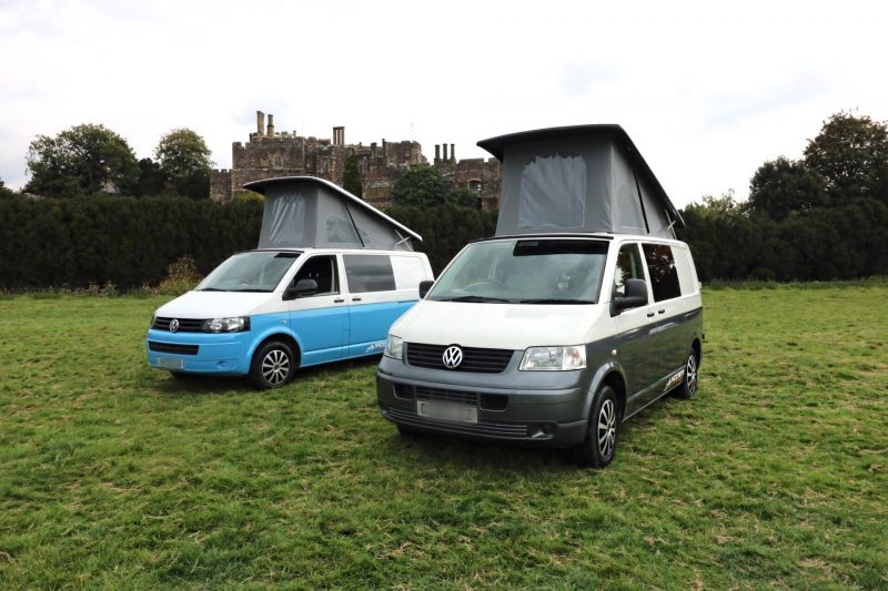 Luxury VW T5 Campervan Hire
